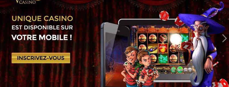 o único casino móvel