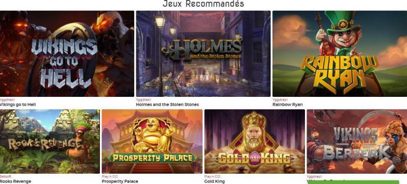 Lucky31 Casino jogos recomendados